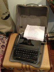 Typewriter Musings