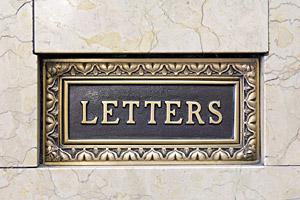 Readers Corner: Letters
