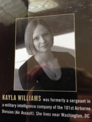 War Letters: Kayla Williams