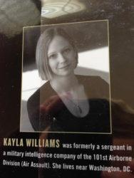 War Letters: Kayla Williams