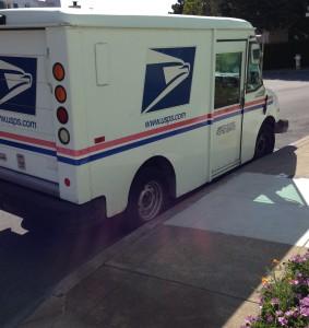 Mail Truck April 2015