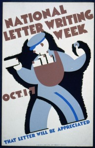 Works Progress Administration poster, 1940. Courtesy Library of Congress