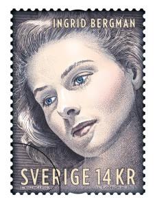 Ingrid Bergman 100 år (PostNord - Willinger)