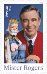 USPS Releases Mister Rogers Forever Stamp