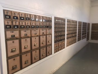 Post Office Boxes by Kay Roberts