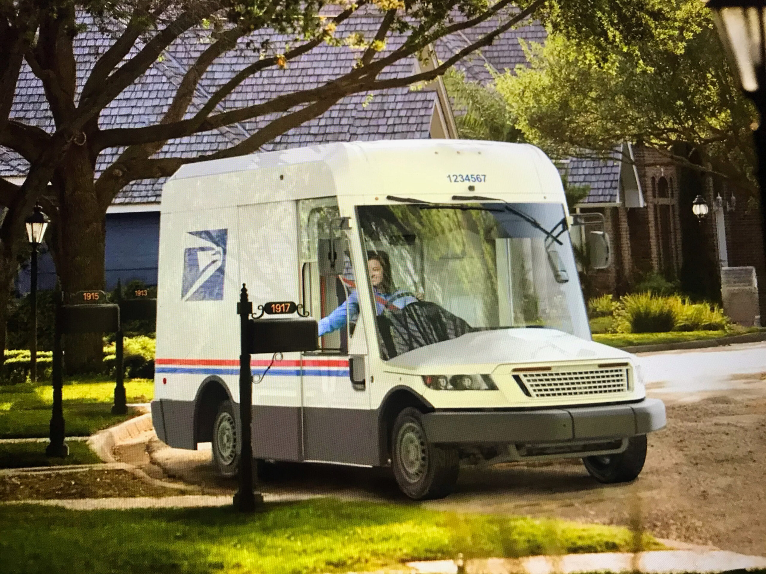 Mail Trucks of the Future